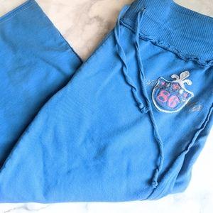 PINK! Victoria Secret Crop Sweats/Joggers